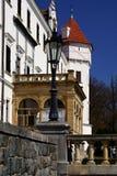 tjeckisk konopisterepublik för slott Fotografering för Bildbyråer