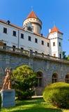 tjeckisk konopisterepublik för slott Arkivfoto