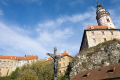 tjeckisk krumlov Arkivbild