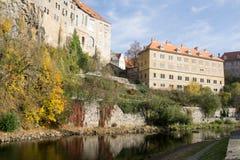 tjeckisk krumlov Arkivfoton