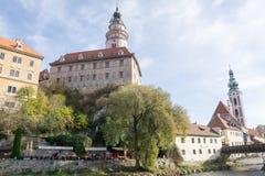tjeckisk krumlov Royaltyfria Bilder