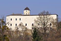 tjeckisk malenovicerepublik för slott Arkivfoto