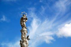 tjeckisk plazastauetelc Arkivfoto