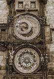 tjeckisk prague för astronomical klocka republik Arkivbild