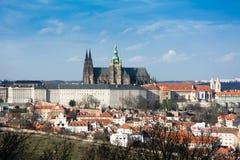 tjeckisk prague för slott republik Royaltyfria Bilder