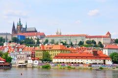 tjeckisk prague för slott republik Royaltyfri Fotografi