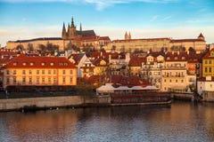 tjeckisk prague för slott republik Arkivfoto