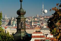 tjeckisk prague för stad republik Royaltyfri Fotografi