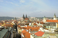 tjeckisk prague republik Royaltyfria Bilder