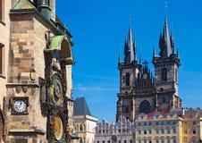 tjeckisk prague republik royaltyfri foto