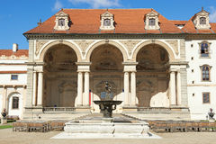 Tjeckisk senat, Prague Royaltyfri Bild