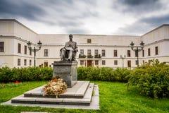Tjeckisk slott Karvina Frystat Royaltyfri Fotografi