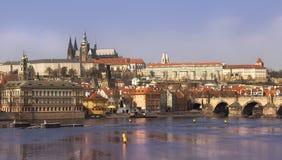 tjeckisk storartad prague republik Arkivbild