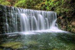 Tjeckisk vattenfall Royaltyfria Bilder