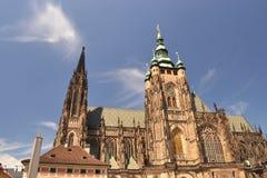 tjeckisk vitus för Europa prague republichst Royaltyfria Foton