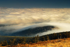 Tjeckiska berg, inversion III Royaltyfri Fotografi