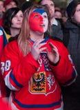Tjeckiska fans Royaltyfri Fotografi