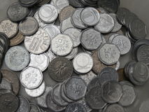Tjeckiska korunas myntar Arkivfoto