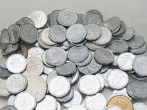 Tjeckiska korunas myntar Arkivfoton