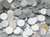 Tjeckiska korunas myntar Royaltyfria Bilder