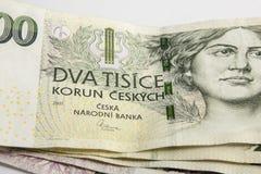 Tjeckiska korunor Royaltyfri Foto