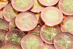 Tjeckiska kronor Arkivbild