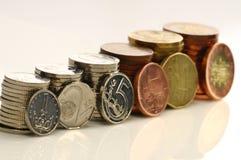 tjeckiska pengar Royaltyfria Bilder