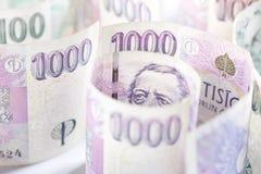 tjeckiska pengar Royaltyfri Foto