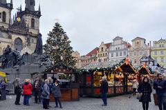 Tjeckiska Republic_Prague Royaltyfri Fotografi