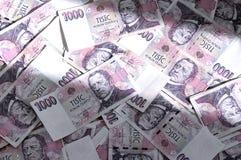 Tjeckiska sedlar Royaltyfri Bild