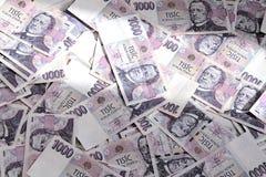 Tjeckiska sedlar Royaltyfria Foton