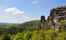 tjeckiska switzerland Royaltyfri Fotografi