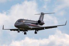 Tjeckiskt flygplan för storgubbe för flygvapenCanadair utmanare 601-3A Royaltyfri Fotografi