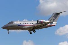 Tjeckiskt flygplan för storgubbe för flygvapenCanadair utmanare 601-3A Royaltyfria Bilder