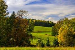 Tjeckiskt paradislandskap Arkivbilder