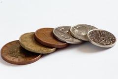 Tjeckmynt, kronor arkivbilder