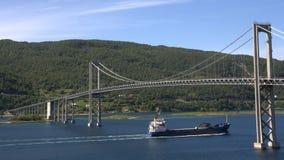 Tjeldsund bridge  Stock Image