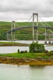Tjeldsund Bridge, Norway royalty free stock images