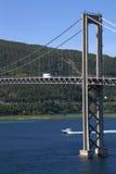 Tjerlsund Bridge, Norway Royalty Free Stock Photo