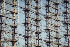 Tjernobyl Duga radar Arkivfoto