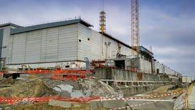 Tjernobyl kärnkraftverk Royaltyfri Fotografi