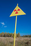 Tjernobyl zon Arkivfoto