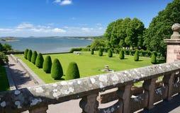 Tjoloholm的城堡视图 库存图片