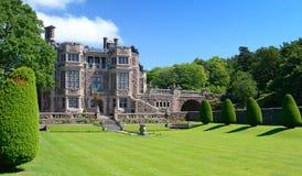 Tjoloholm的城堡-侧视图 库存图片