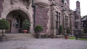 Tjoloholm-Schloss stock video footage