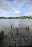 Tjornin lake Royalty Free Stock Images