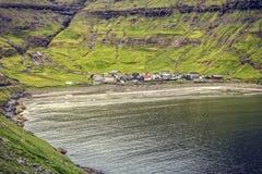Tjornuvik village, faroe island