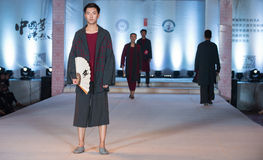 Tjugo-nionde serie Ling Bo Fairy-Fashion Show Arkivbild