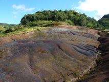 Tjugotre färgade jord Arkivbild