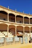 Tjurfäktningsarena av Maestranza i Ronda, Andalusia, Spanien royaltyfria foton